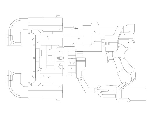 Dead_Space_3_Plasma_Cutter_Outline